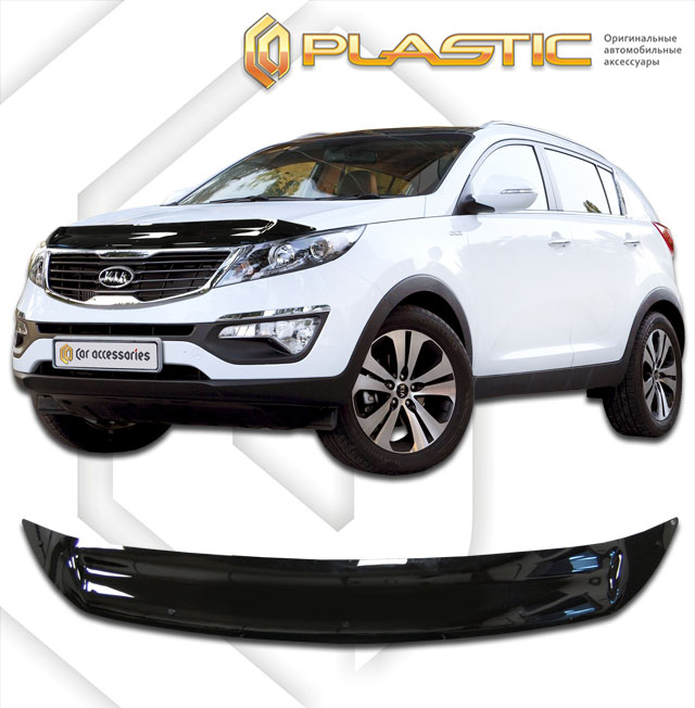 Hood deflector (Full-color series (Collection)) Kia Sportage
