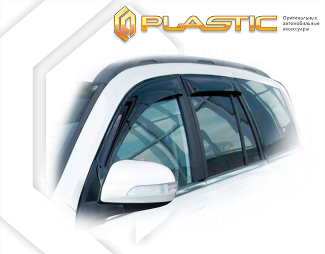 Window visors (Classic translucent) DW	Hower H3