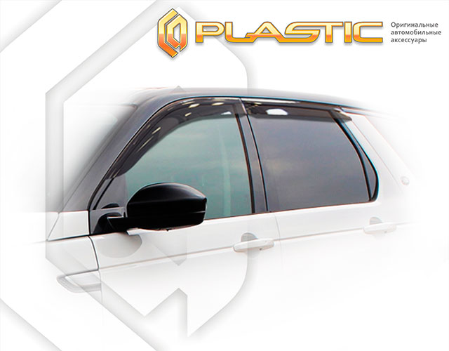 Window visors (Classic translucent) Land Rover Discovery Sport